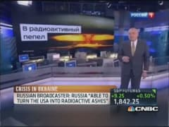 Russian broadcaster: Russia 'able to turn USA into radioactive ashes'