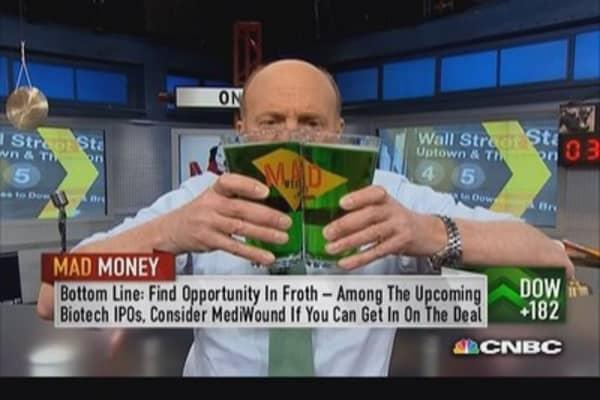 Embrace MediWound IPO: Cramer