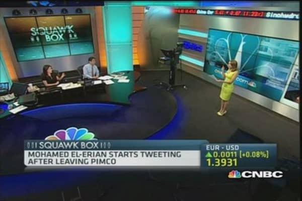 El Erian opens Twitter account