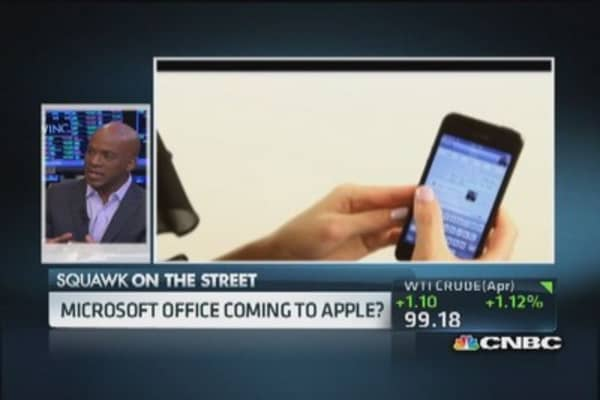 Microsoft's potential iPad move