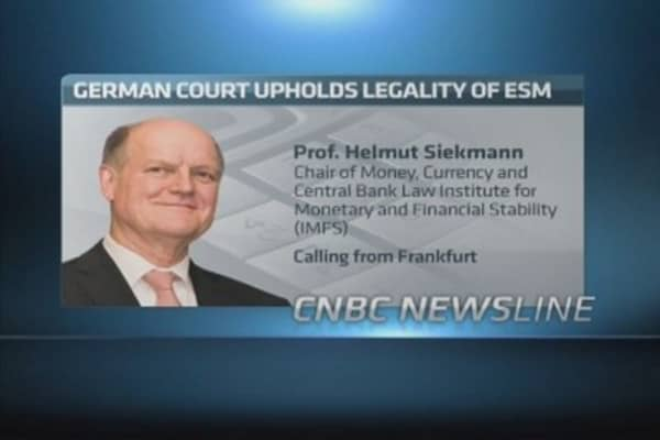 ESM ruling is 'no surprise': Expert