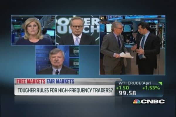 Greater advantage for high-frequency traders?