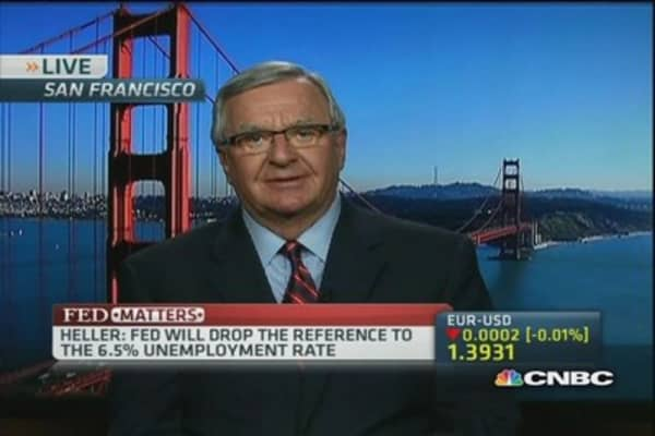 Robert Heller: The Fed will keep rates low
