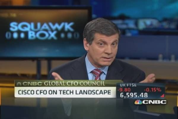 Cisco, staying ahead in the cloud space: CFO