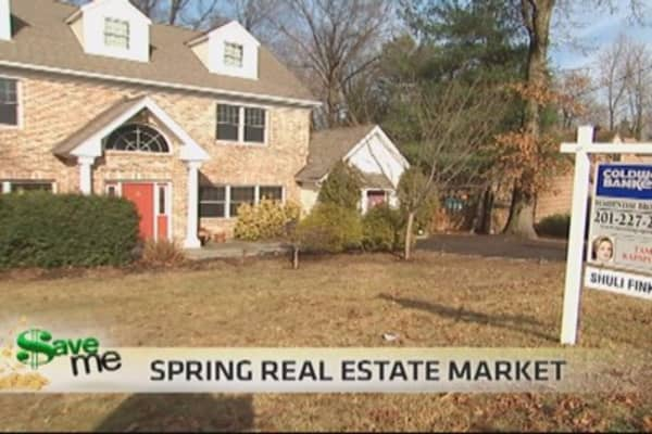Springtime real estate tips