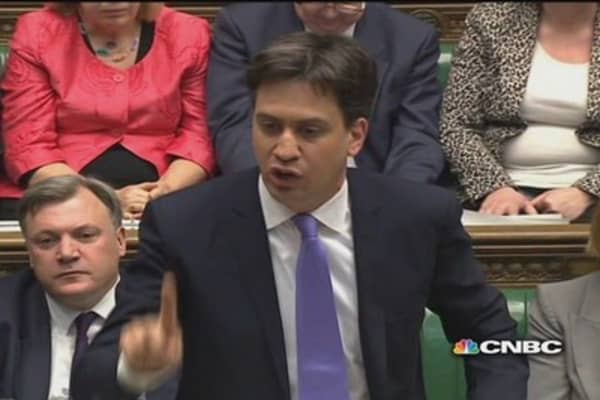 Conservative UK budget a 'con': Opposition leader