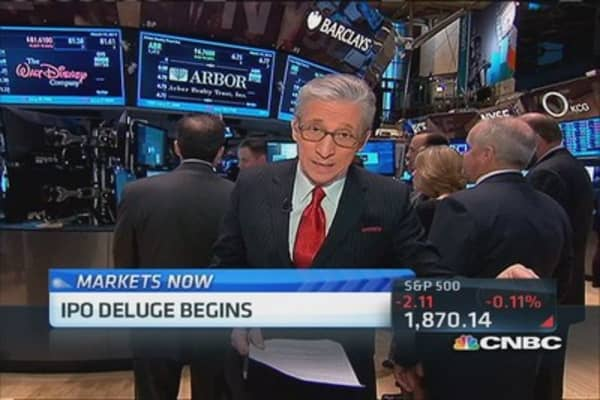 Pisani's market opens to the downside