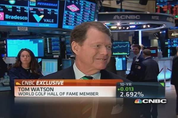 Tom Watson on the future of Golf