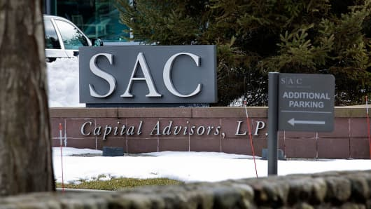 SAC Capital Advisors signage outside the company's headquarters in Stamford, Conn.