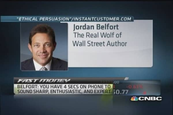 'Wolf of Wall Street' sells 'ethical persuasion'