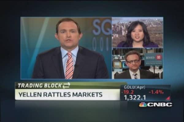 Interest rate hint rattles markets