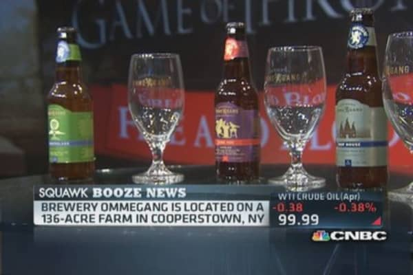 Brewing profits with high-end beer: CEO