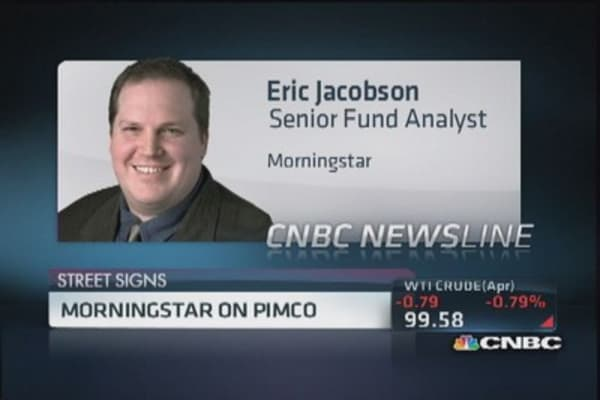 Morningstar's view on Pimco's total return fund
