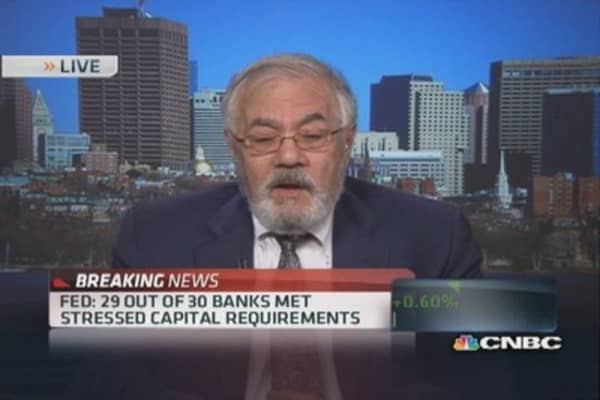 Barney Frank: American institutions don't escape regulation outside of US
