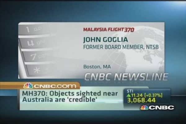 Can latest satellite images be MH370?