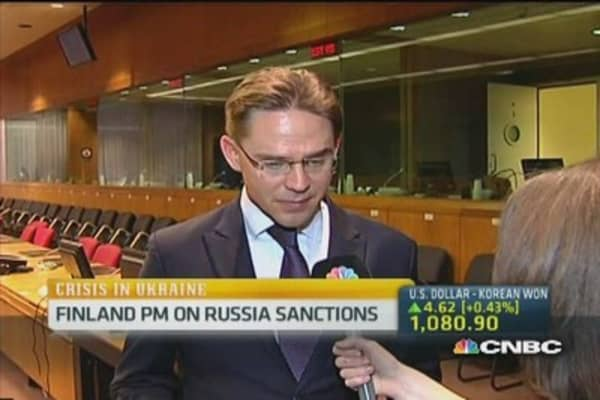 Finland PM: Ready to put more sanctions on Russia