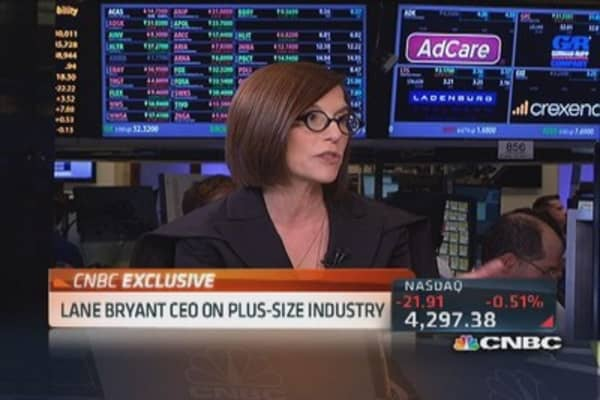Lane Bryant CEO: Only focused on plus-size