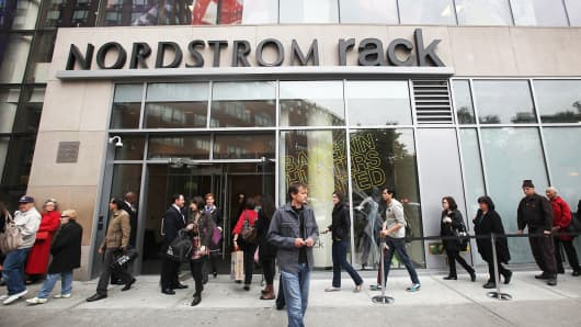 Nordstrom Rack store in New York City.
