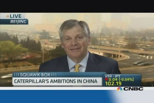 How China's slowdown is affecting Caterpillar