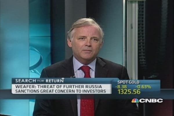 'Volatile' politics around Russia will weigh on equities: Pro
