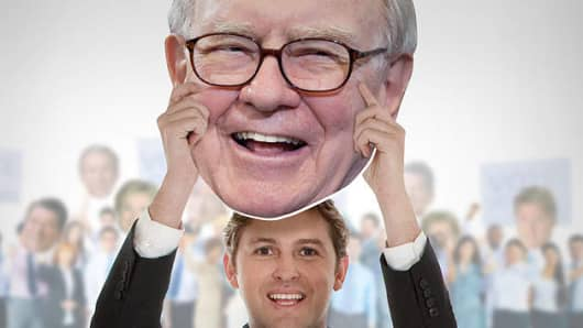 Warren Buffett Big Head by Fathead