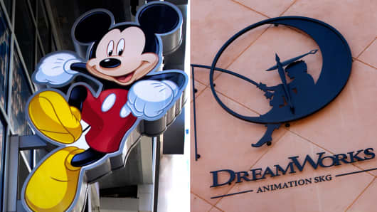 Walt Disney and DreamWorks Animation both have investments in major YouTube channels.