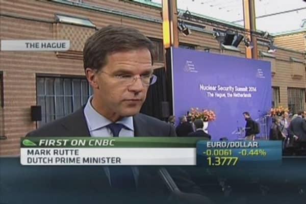 More sanctions if Russia acts further: Dutch PM