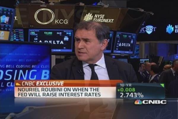 Nouriel Roubini: Fed risks creating bubble