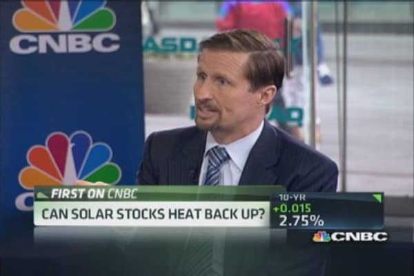 Can solar stocks get hot?