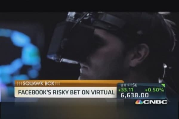 Facebook buys Oculus for $2 billion