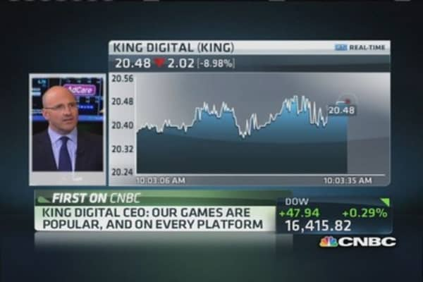 King Digital CEO on 'unique' business model