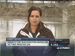 Search continues after Washington mudslide