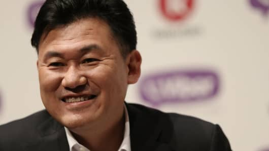 Hiroshi Mikitani, chairman and chief executive officer of Rakuten