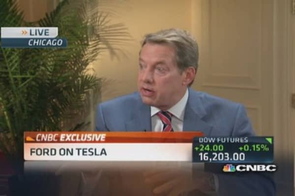 Ford eyes Tesla's disruptive model