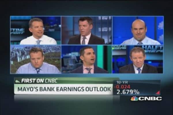 Mike Mayo selling Bank of America