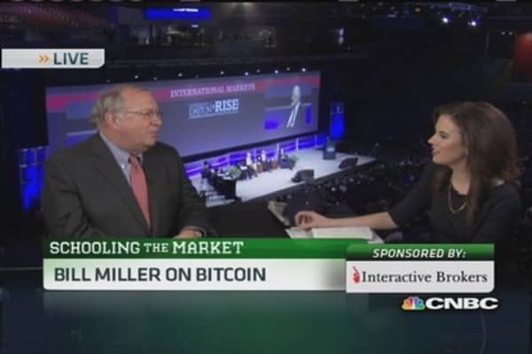 Bitcoin an intellectual experiment: Bill Miller