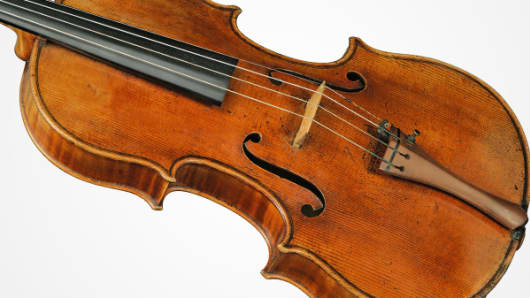 This rare 1719 Stradivarius viola that is expected to sell for more than $45 million in a private sale by Sotheby's.