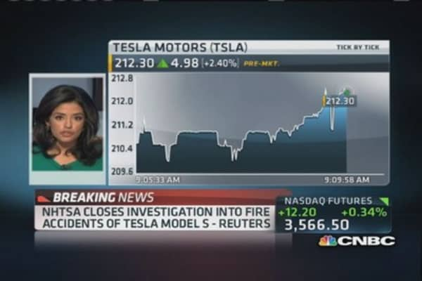 NHTSA closes Tesla investigations: Reuters