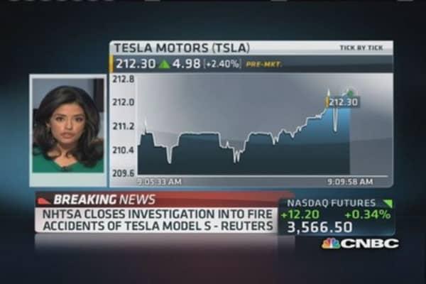 NHTSA closes Tesla investigations: Reuters