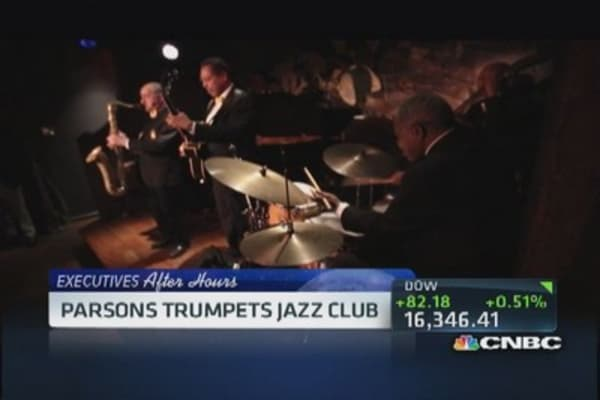 Executives After Hours: From CEO to jazz club owner