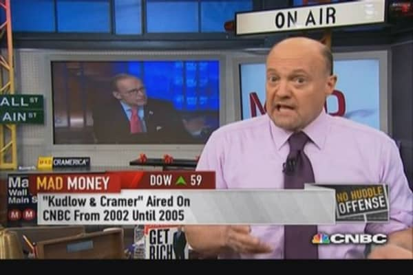 Cramer reflects on Larry Kudlow's years on CNBC