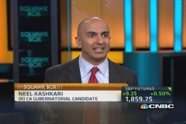 We need a level playing field: Kashkari