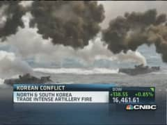 North & South Korea trade intense artillery fire