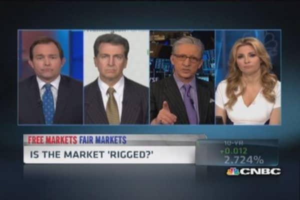 Market 'rigged': Michael Lewis