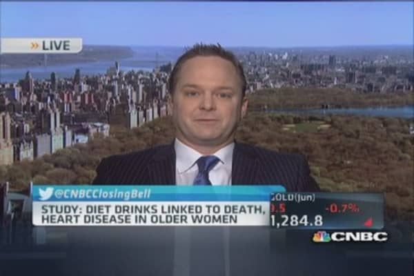 Study: Diet drinks associated with death, heart disease