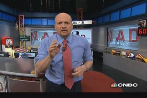 Cramer on high-frequency trading
