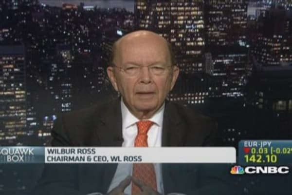 China property defaults are no surprise: Wilbur Ross