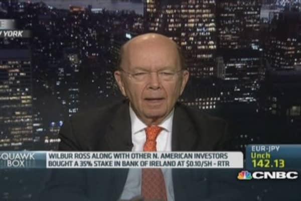 Why Wilbur Ross likes European property