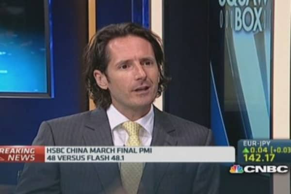 China growth may only bottom out in Q2: HSBC