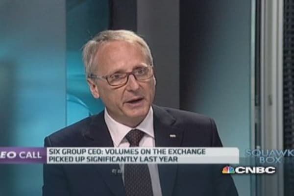 Euronext of 'strategic relevance': Six Group CEO